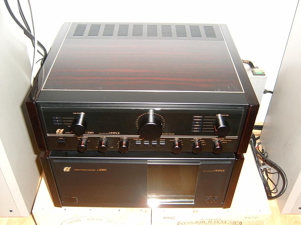 Sansui B-2301 / C-2301 Vintage